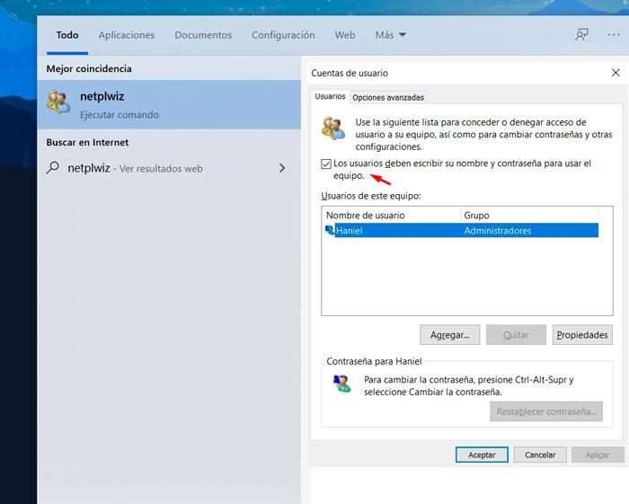 deshabilitar-contraseña-windows10