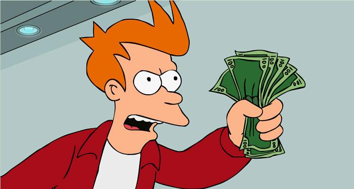 ¡Cállate-y-toma-mi-dinero!