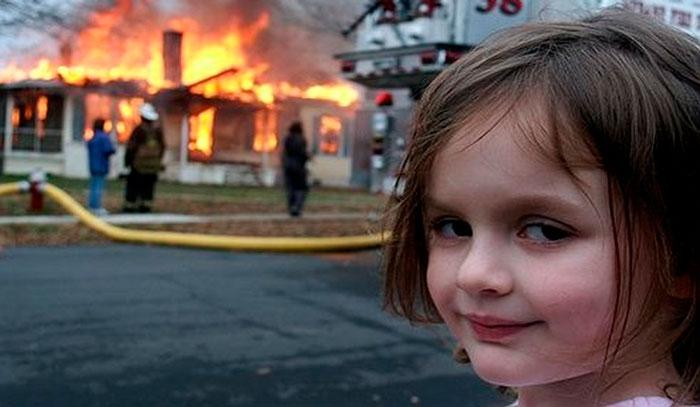 La-niña-catastrofe-meme
