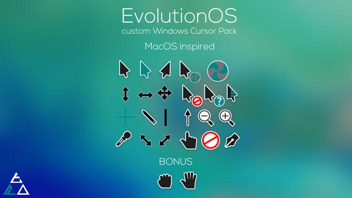 evolution-cursores