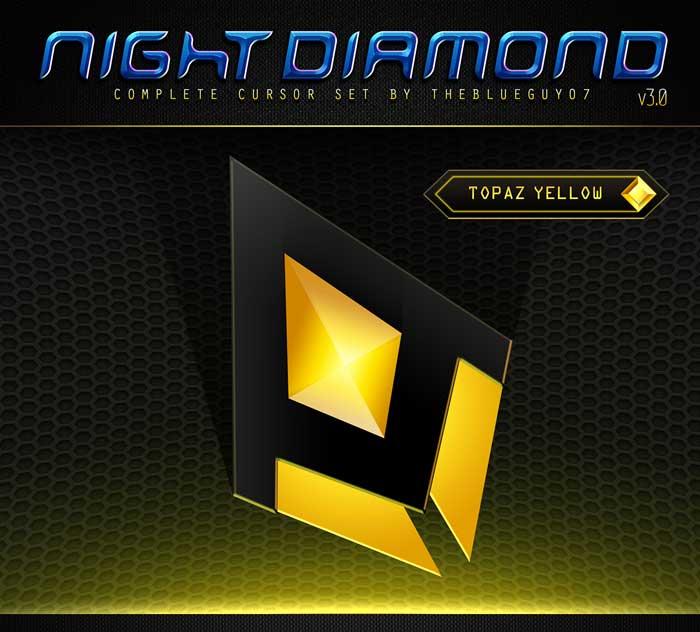 night-diamond-cursors