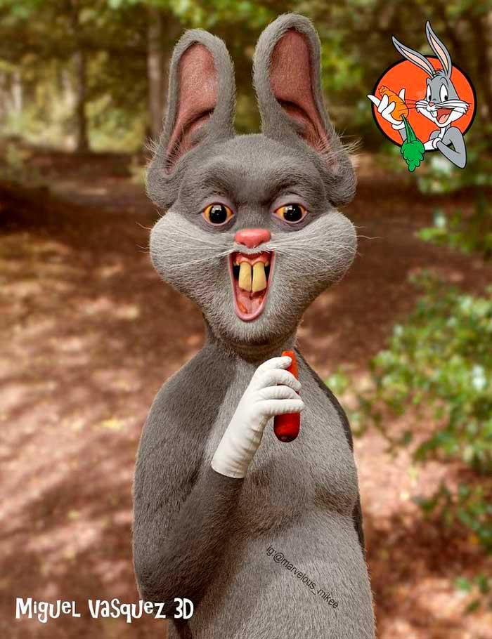 caricatura-bugs-bunny