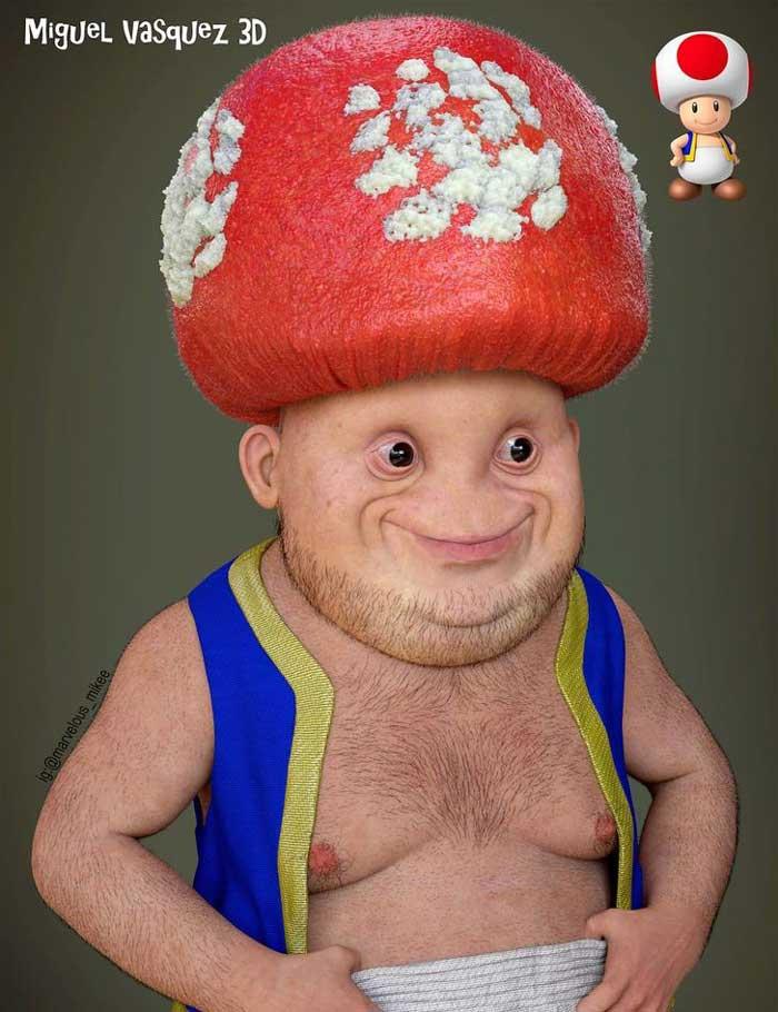 caricatura-mario-bros-hongo